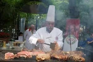 Cottura della bistecca alla fiorentina per expo 2015